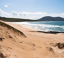 Landscape, Scotland, Outer Hebrides, South Harris, Traigh Mhor beach by Hugh McKean