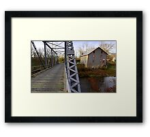 The Potter Wade Mill Framed Print