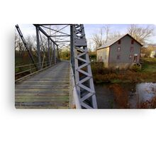 The Potter Wade Mill Canvas Print