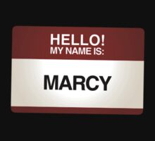 NAMETAG TEES - MARCY by webart