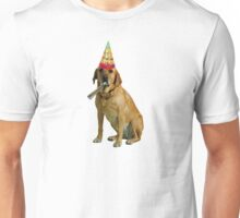Yellow Labrador Retriever Birthday Unisex T-Shirt