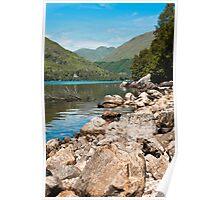 Landscape, Loch Sheil, Lochaber, Scotland Poster