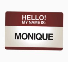 NAMETAG TEES - MONIQUE by webart