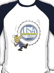 usa california tshirt by rogers bros T-Shirt