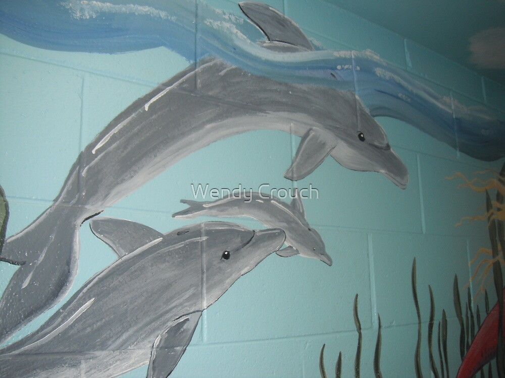 Dolphins by Wendy Crouch