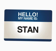 NAMETAG TEES - STAN by webart