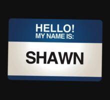 NAMETAG TEES - SHAWN by webart