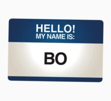 NAMETAG TEES - BO by webart