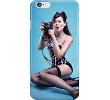 """Freeze"" Pin up Girl  iPhone Case/Skin"