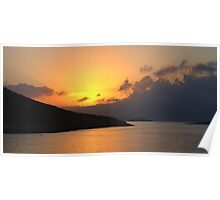 Sunrise on Halki Poster
