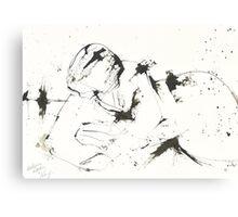 Reclining Woman Canvas Print