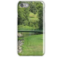 Bridge on a Golf Course iPhone Case/Skin