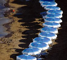 Beach Brellas by Tom Allen