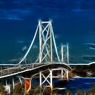 The Forth Road Bridge  by Sandra Cockayne