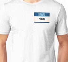 NAMETAG TEES - NICK Unisex T-Shirt