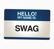 NAMETAG TEES - SWAG by webart
