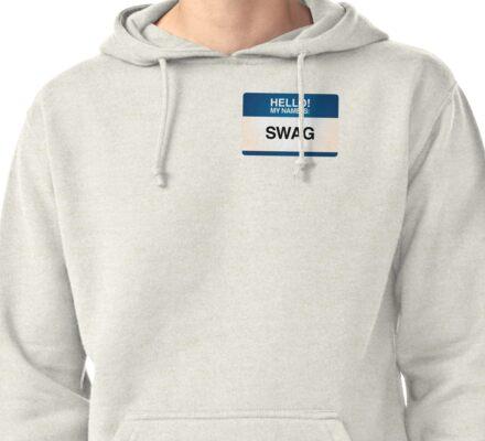 NAMETAG TEES - SWAG Pullover Hoodie