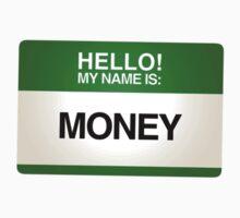 NAMETAG TEES - MONEY by webart