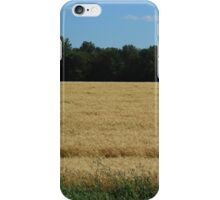 Field of Wheat on the Prairies iPhone Case/Skin