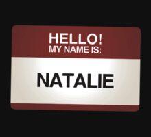 NAMETAG TEES - NATALIE by webart