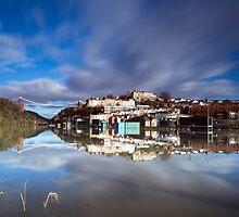 Bristol at High Tide by Carolyn Eaton