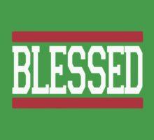 BLESSED JESUS GOD LOVE CHRISTIAN One Piece - Short Sleeve