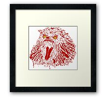 Keep Off The Moors (Red Variant) Framed Print