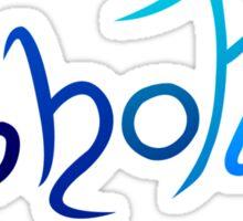 Ghoti - Blue Fish Sticker