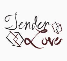 Tender Love Black Kids Tee
