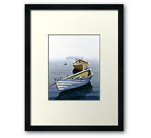 """Waiting For The Race"" Framed Print"