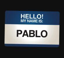NAMETAG TEES - PABLO by webart