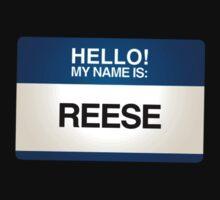 NAMETAG TEES - REESE by webart