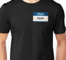 NAMETAG TEES - CLAY Unisex T-Shirt