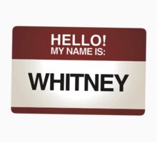 NAMETAG TEES - WHITNEY by webart