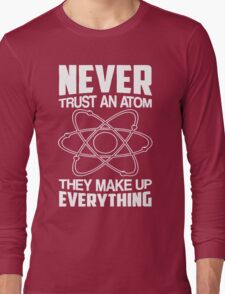 Humor Chemistry Science Long Sleeve T-Shirt