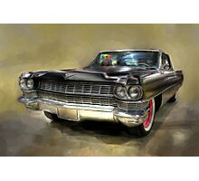 1964 Cadillac Photographic Print
