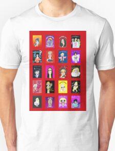 Demented Diva Assembled Cast - Red T-Shirt