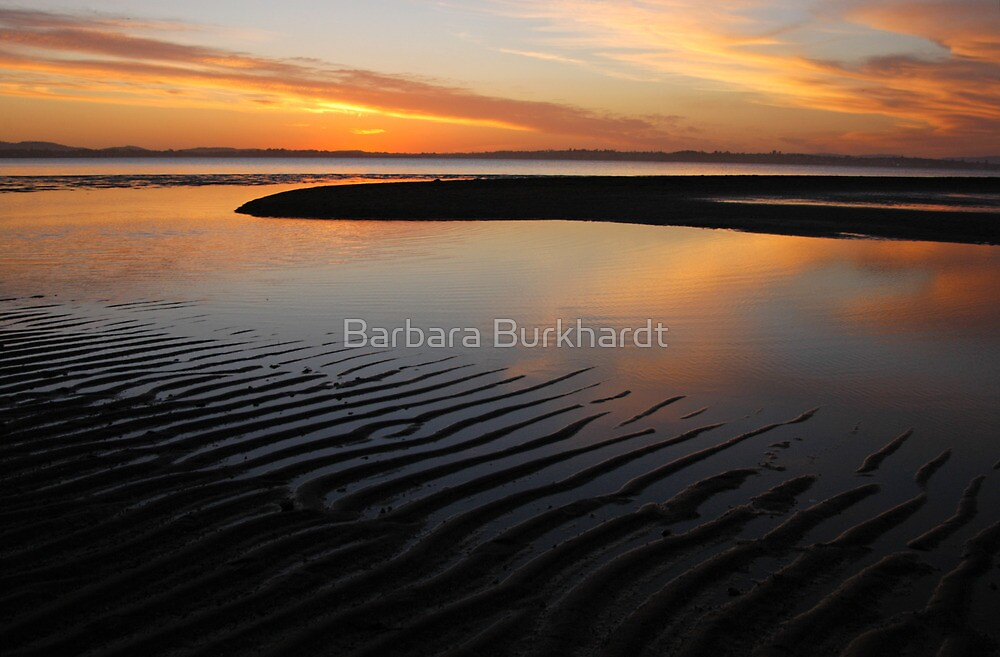 Day's End at Wellington Point by Barbara Burkhardt