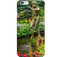 Boy in the Conservatory iPhone Case/Skin