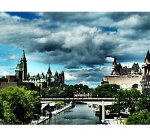 Ominous Ottawa Photographic Print