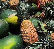 Pineapples and Watermelon by rhamm