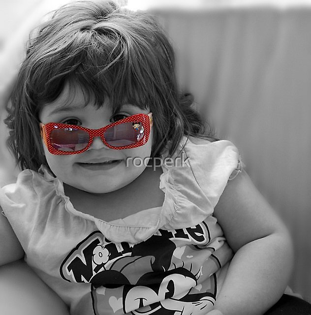Red Sunglasses by rocperk