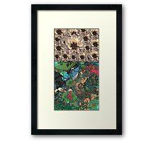 Garden Bed Single Framed Print
