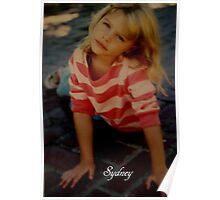 SYDNEY, MY LITTLE GRANDAUGHER.. Poster