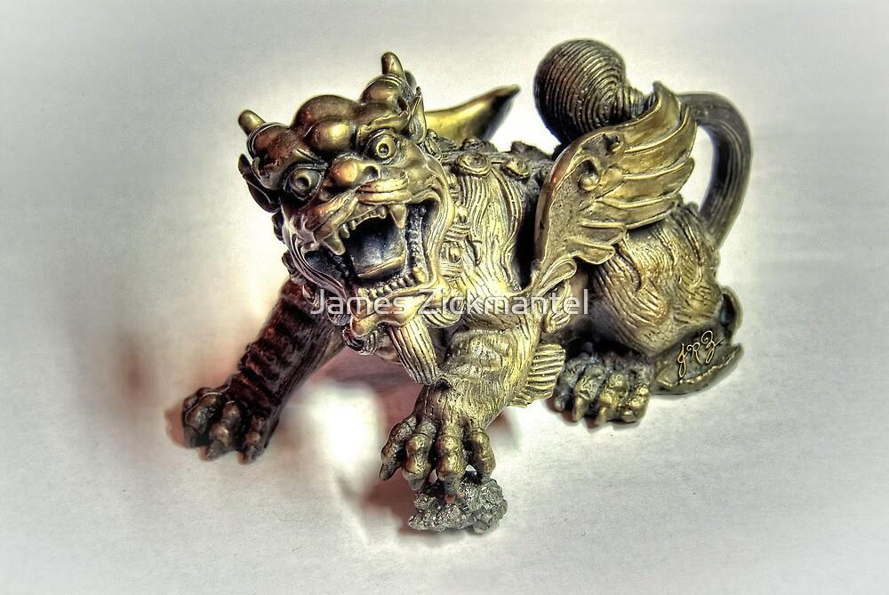Brass Dragon by James Zickmantel