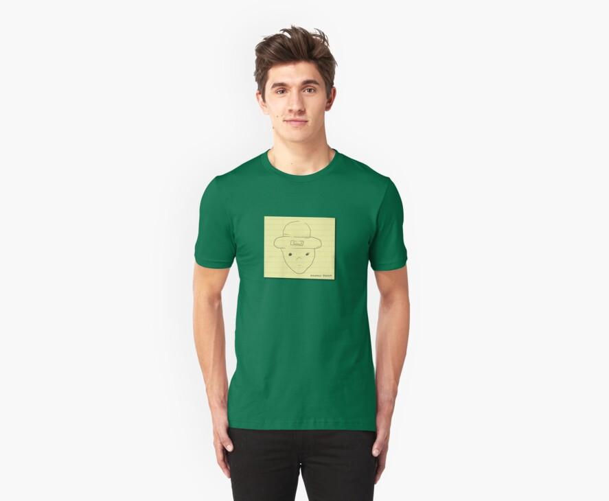 My unoriginal leprechaun amateur sketch shirt by Kirk Shelton