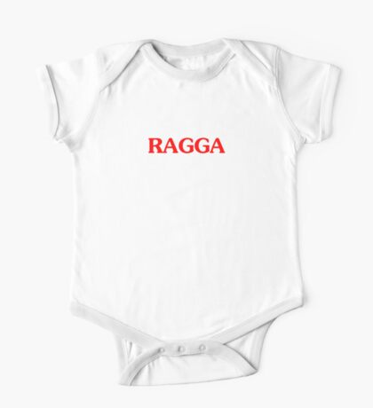 Ragga T-shirt Raggamuffin Tee Reggae Dancehall One Piece - Short Sleeve