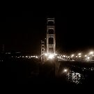 Golden Gate by Night by Cleber Design Photo