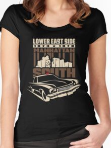Manhattan South Women's Fitted Scoop T-Shirt