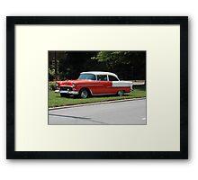 55 Chevy Framed Print